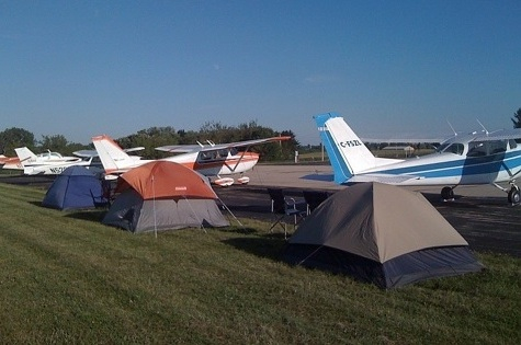 Dodge County Airport Camping Area